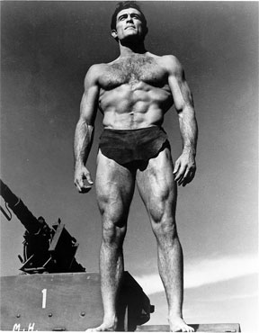 Mike Henry in the Tarzan movies at the time was what really did it for me.